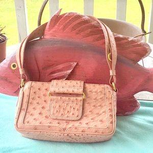 Cape Cobra Ostrich Leather Handbag 👜 AMAZING